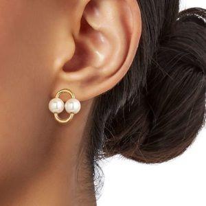NWT Kate Spade Nouveau Faux Pearl earrings